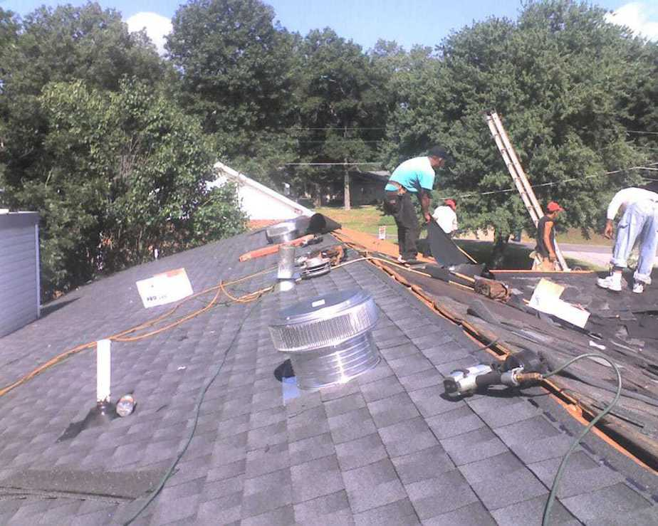 Our Aura Roof Vents Being Installed On A Home In Southeast Tennessee