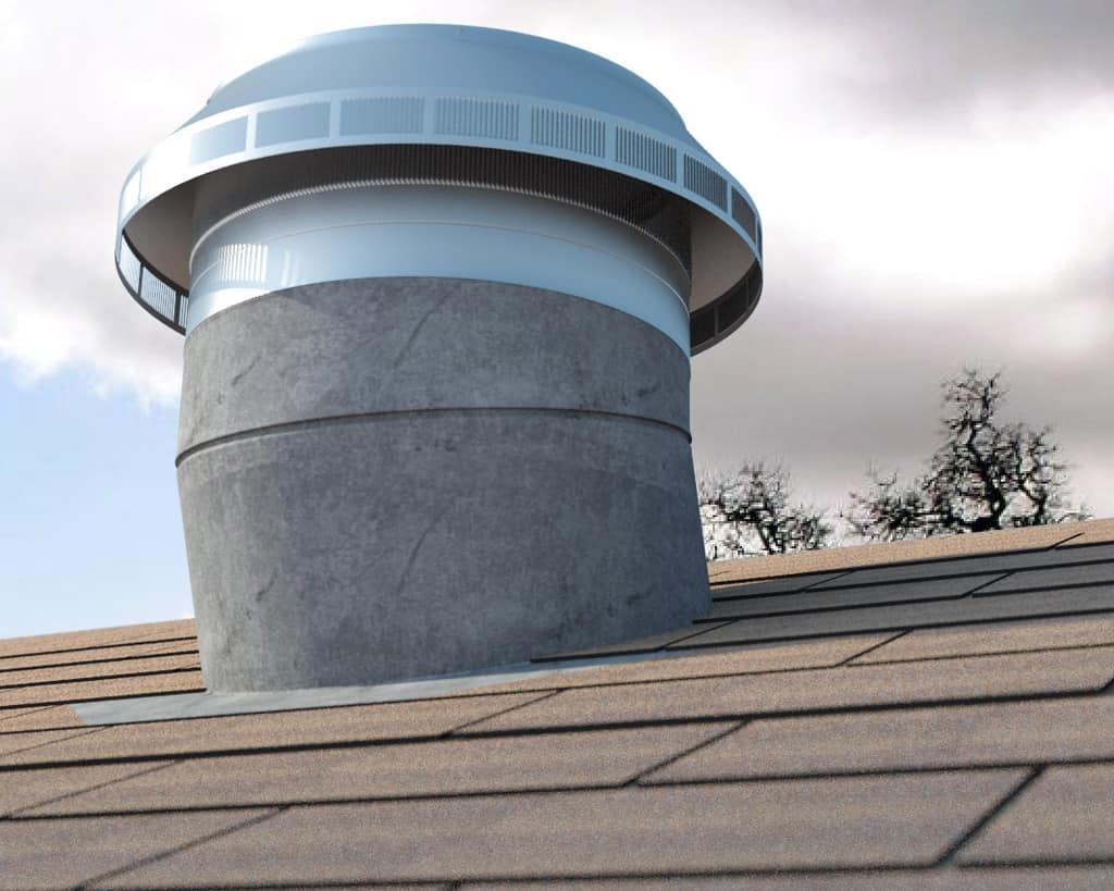 Pop Vent Retrofit Roof Louver