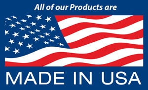 American Flag - All Our Products are Made In USA
