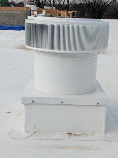 Flat Roof Ventilation -Quick And Easy Installation